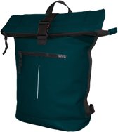 New Rebels Waterproof Rolltop Rugzak met Laptopvak 15'' Mart Petrol