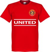 Manchester United Team T-Shirt - Rood - M