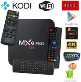 MXQ Pro 4k met snelste S905x processor en Android 7.1 | Kodi 18.0 | TV Box 2019 model + GRATIS MX3 Air Mouse Zwart