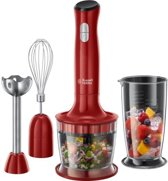 Russell Hobbs 24700-56 Desire 3-in-1 - Staafmixer - Rood