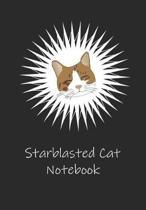 Starblasted Cat Notebook