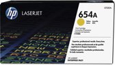 HP 654A - Tonercartridge / Geel
