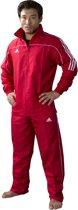 adidas Team Track - Hockeytrainingsjas - Volwassenen - Maat L - Rood