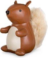 Zuny boekensteun eekhoorn tan/white
