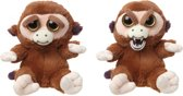 Feisty Pets Monkey - Knuffel - Aap - Goliath