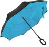 Powerplu - Binnenstebuiten Paraplu – Heaven Blue