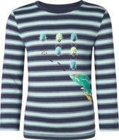 Noppies Jongens T-shirt - Donkerblauw - Maat 110