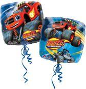 Standard Blaze and the Monster Machines Foil Balloon Square S60 bulk 43cm