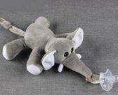 Speenknuffel Olifant - Eco-vriendelijk - Speen Knuffel (EXCLUSIEF SPEEN)