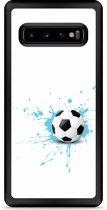 Galaxy S10 Hardcase hoesje Soccer Ball