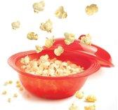 Mastrad Minute Popcorn Maker - Siliconen - Rood