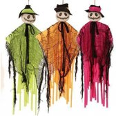 Halloween - Decoratie pompoen pop  groen
