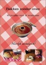 Omslag van 'Bakken zonder oven'