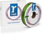 REAL Filament PETG transparant groen 1.75mm (500g)