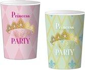 Prinsessen Bekers Party 200ml 8 stuks
