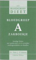 Bloedgroep A zakboekje
