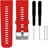 Siliconen Horloge Band Voor Garmin Vivoactive HR -  Armband / Polsband / Strap Bandje / Sportband - Rood