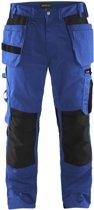 Blåkläder 1555-1860 Werkbroek met spijkerzakken Korenblauw/Zwart maat 50