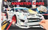 Monster Cars Pocket Kleurboek