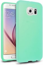 Colorfone PREMIUM CoolSkin3T Siliconen / Gel / TPU / Softcase / hoesje / Cover / Case voor de Samsung Galaxy S6 Turquoise