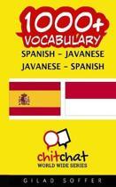 1000+ Spanish - Javanese Javanese - Spanish Vocabulary