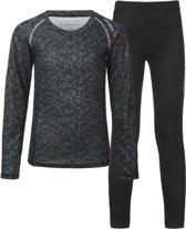 Tenson Sportshirt - Maat 158  - Unisex - zwart/grijs