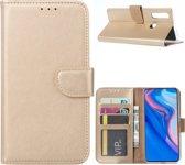 Huawei P Smart Z - Bookcase Goud - portemonee hoesje