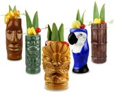 Tiki Party Pack Cocktailglazen - 5 stuks