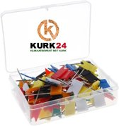 Kurk24 Gekleurde vlagspelden - 100 stuks