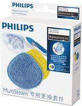 Philips MultiSteam FC8055/01 - Microvezelschijven voor stoomreinigers FC7008/FC7010/FC7012 - 2 stuks
