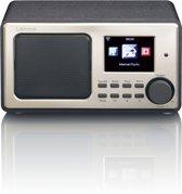 Lenco DIR-110 - Internetradio met MP3 Bluetooth en USB functie - Zwart