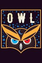 Owl: With a matte, full-color soft cover, this Bucket List Journal is the ideal size 6x9 inch, 90 pages cream colored pages