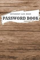 Password Book With Tabs: Internet Log Book with Alphabetical Tabs SIZE 6x9 Large Print - Cute Design: Internet Log Book with Alphabetical Tabs,
