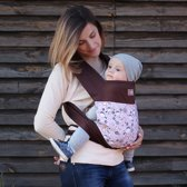 "Love and Carry® Mei Tai babydrager ""Mocha"""