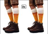 2x Paar biersokken mt.39-42