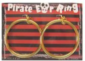 Zwarte Piet oorringen met klipsluiting