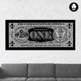 One Dollar Bill Limited Edition    |  100 x 42 cm  |  Schurk Design