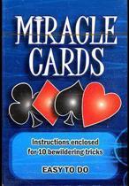 Miracle kaarten goocheltruc