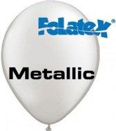 Ballonnen Metallic Zilver 30 cm 25 stuks