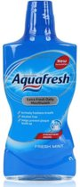 Aquafresh Mondwater - Fresh Mint - 500 ml