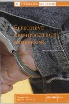 Studiereeks recherche 13 - Effectieve criminaliteitsbeheersing