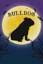 Bulldog Notebook Halloween Journal