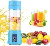 JAP Blender - Mix & Go - Mixer voor onderweg met accu - Blauw