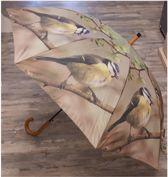 Paraplu Vogels Koolmees van Esschert design