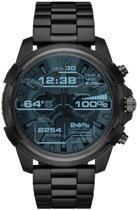 Horlogeband Diesel DZT2007 Staal Zwart 24mm