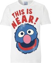 Logoshirt T-Shirt Grobi - Sesamstrasse