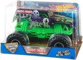 Hot Wheels monster jam truck Grave Digger - schaal 1:24