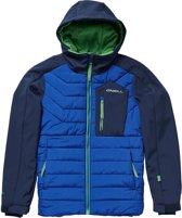 O'Neill PM Hybrid SEB Toots Terrain Wintersportjas - Maat 128  - Jongens - donker blauw/ blauw/ lime groen