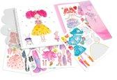 My Style Princess Dress me up stickerboek