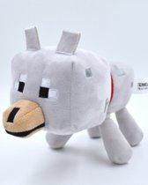 Minecraft Pluche Knuffel - Wolf 18cm